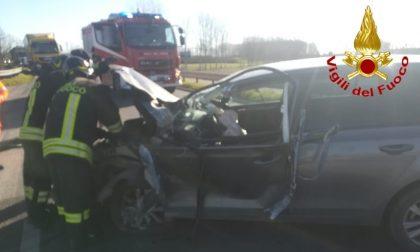Incidente con mezzo pesante a Borghetto Lodigiano FOTO