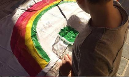 """""""Andrà tutto bene"""": i capolavori dei bambini della parrocchia di Castiglione d'Adda FOTO"""