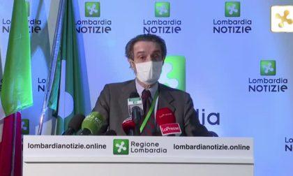 """Fontana: """"Rallentamento contagi in linea con i giorni precedenti"""" VIDEO"""