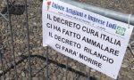 La protesta (in sicurezza): imprenditori, commercianti e artigiani lodigiani in piazza contro il Decreto Rilancio