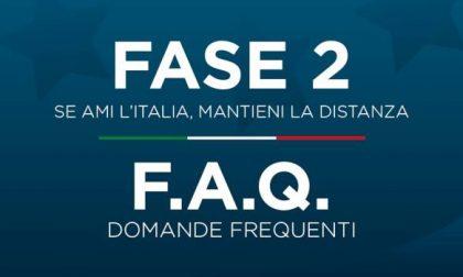 """""""Fase 2"""": online le risposte alle FAQ sul DPCM 26 aprile 2020"""