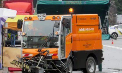 A Lodi tornano i controlli per i divieti di sosta durante la puliziadelle strade
