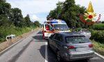 Incidente sulla via Emilia: un'ambulanza nel canale e quattro feriti FOTO