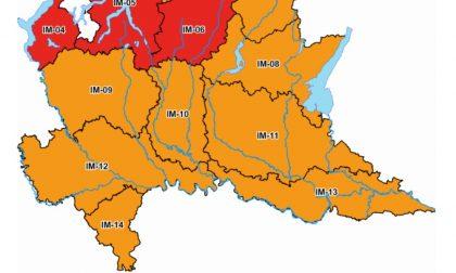 Allerta meteo arancione: nel Lodigiano temporali forti fino a domani