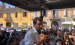 """Salvini a Codogno: """"Una comunità che ha dimostrato dignità, forza e coraggio"""". Poi l'incontro con l'oste Cattaneo VIDEO"""