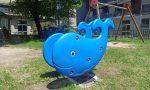 I parchi del quartiere San Bernardo si rifanno il look: posati nuovi giochi e arredi FOTO