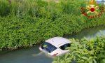 Auto con a bordo una donna finisce nel canale: 40enne salvata da un passante