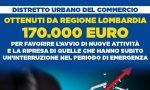 170mila euro da Regione per le attività economiche lodigiane