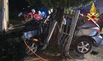 Grave incidente a Zorlesco, 22enne trasportato d'urgenza in ospedale FOTO