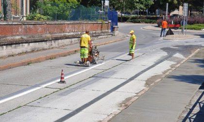 Lavori ciclabile di via San Colombano: da lunedì modifiche alla circolazione