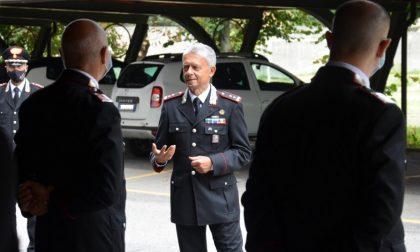 Il saluto del Comandante della Legione Lombardia ai Carabinieri di Lodi