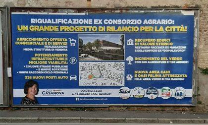 A Lodi spuntano maxi cartelloni pro Esselunga, ma non tutti apprezzano