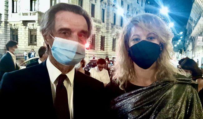 L'omaggio del Presidente Fontana alla Dott.ssa Malara che scoprì il paziente 1