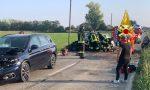 Incidente a catena sulla Sp 17, 5 vetture coinvolte FOTO