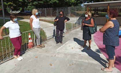 Riapertura asili nido comunali,presenti anche assessore Sobacchi e sindaco Casanova