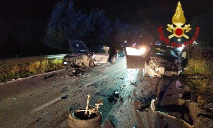Schianto frontale sulla Lodi-Boffalora, cinque persone ferite VIDEO