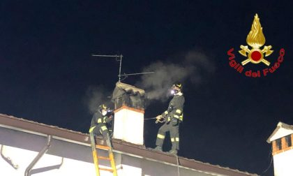 Canna fumaria a fuoco in una villetta di Sant'Angelo Lodigiano