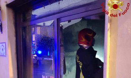 Incendio in un'osteria di Somaglia, i residenti danno l'allarme FOTO