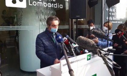"""Presidente Fontana: """"Tutta la Lombardia zona rossa, senza alcuna deroga"""" VIDEO"""
