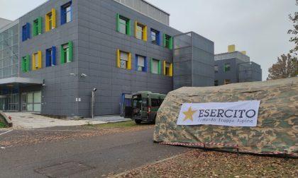 Esercito al Parco Tecnologico Padano per il nuovo punto dedicato ai tamponi rapidi FOTO
