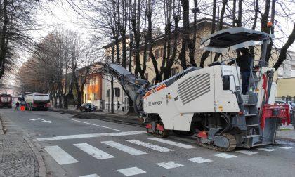 Completati i lavori in viale Dante: si chiude il piano asfalti 2020 FOTO
