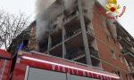 In fiamme un appartamento nel Cremasco, in soccorso arrivano i Vigili del fuoco lodigiani FOTO e VIDEO