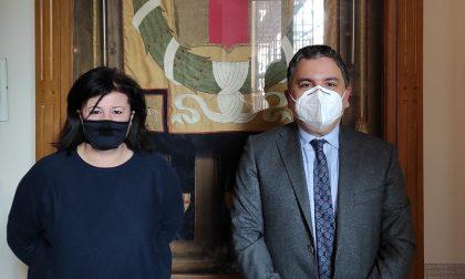 Visita del nuovo Prefetto di Lodi a Palazzo Broletto