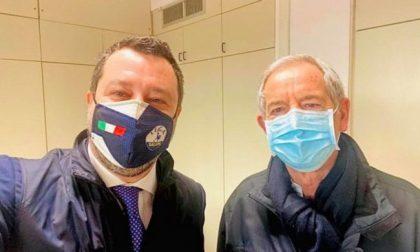 Vaccinazioni antiCovid, Salvini vuole proporre il «modello Lombardia» a Draghi