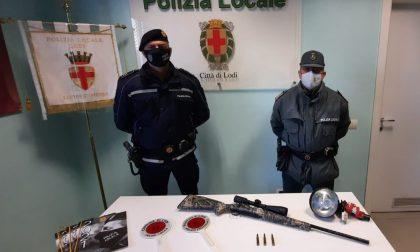 Operazione antibracconaggio della Polizia Provinciale di Lodi, inseguiti e fermati tre cacciatori non autorizzati