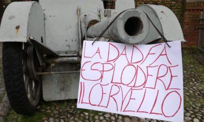 Spuntano cartelli #nodad in tutta Lodi: protesta contro la didattica a distanza