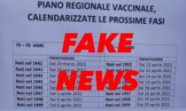 Attenzione alla fake news sulla calendarizzazione dei vaccini per chi ha meno di 80 anni