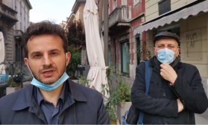 Sciopero della fame davanti alla Prefettura di Lodi per i diritti dei lavoratori dell'Asst