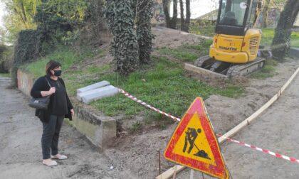 Iniziati i lavori al parco delle Baste, nuova rampa in arrivo