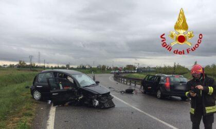 Incidente a Montanaso Lombardo, tre feriti in ospedale
