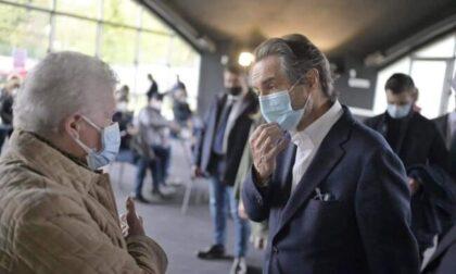 """Lombardia zona gialla dal 26 aprile? Fontana: """"I numeri migliorano. Buone possibilità"""""""