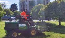 A Lodi iniziate le annuali operazioni di taglio dell'erba
