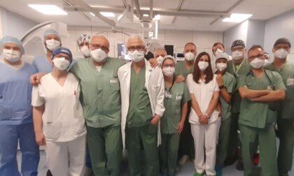 All'Ospedale Maggiore effettuato il primo intervento di chiusura percutanea dell'auricola sinistra.