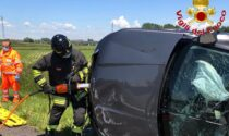 Incidente a San Zenone al Lambro, due persone coinvolte