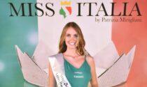 Miss Italia Lombardia: la lodigiana Valentina Fuso arriva sul podio