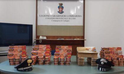 """Ladri di cibo in azione nel Lodigiano: in auto un """"tesoretto"""" di tocco e cioccolato da oltre 500 euro"""