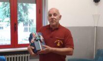 Il Capo Squadra Battaglia va in pensione dopo 36 anni di onorato servizio