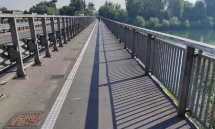 Completate le passerelle ciclopedonali del ponte sull'Adda