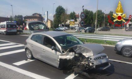Violento scontro a Guardamiglio, in auto viaggiava anche un bimbo di 2 anni