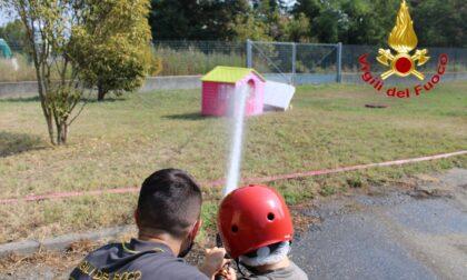 """Tutti pazzi per """"Pompieropoli"""": evento dei Vigili del Fuoco tra giochi e insegnamenti"""