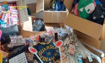 Bigiotteria, utensili, borse e giocattoli: sequestrati oltre 131mila prodotti non sicuri